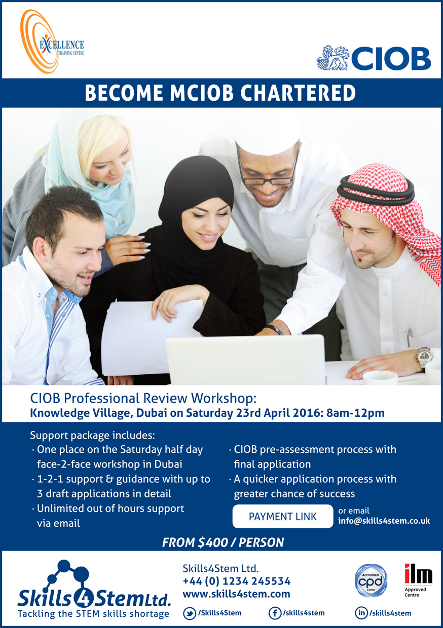 Dubai Flyer - Professional Review Workshop 23rd April 2016 1